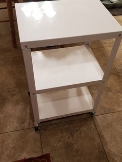 White Rolling Cart for Sale in Greenwood,  IN