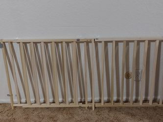 Extra Wide Wooden swing Safety Gate for Sale in Selma,  CA