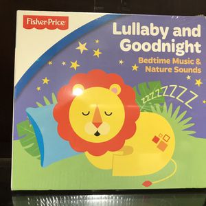 Fisher-Price Bedtime Lullaby Music CD for Sale in Liberty Hill, TX
