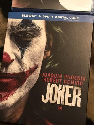 Joker Blu-ray DVD for Sale in Gardena, CA