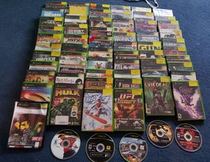 65 original Xbox games sports fighters and more for Sale in Galloway, NJ