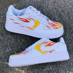 FLAME CUSTOM Air Force | Custom Shoes | custom shoes for Sale in Ontario, CA