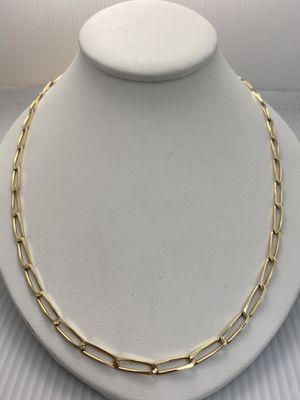 """14k 30"""" Yellow Gold Link Chain for Sale in Villa Park, IL"""