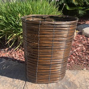 Tall Wicker Basket for Sale in Ontario, CA