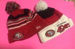 49ers knit hats for Sale in Lynnwood, WA