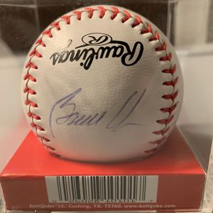 Bruce Chen Autographed Official League Baseball for Sale in Roseville, MI