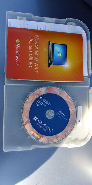 Windows 7 professional for Sale in Everett, WA