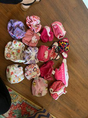 Newborn cloth diaper stash for Sale in Scottsdale, AZ