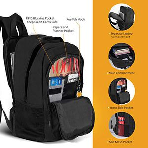 "New $20 OMORC Anti-Theft Laptop Backpack w/ Lock Waterproof Travel Bag USB Charging Port Fit 15"" Notebook for Sale in Whittier, CA"