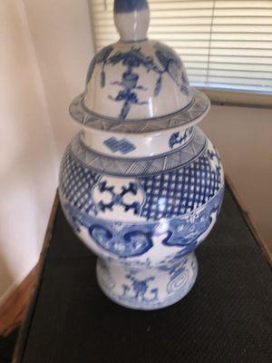 blue and white ginger jar for Jennifer for Sale in Boca Raton, FL