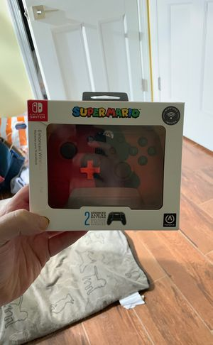 BRAND NEW SUPER MARIO NINTENDO SWITCH CONTROLLER for Sale in Washington, DC