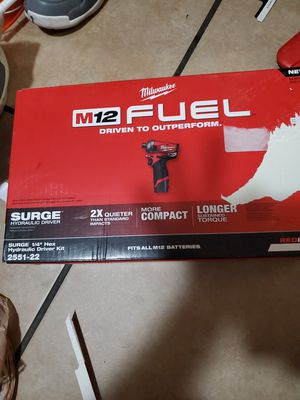 Milwaukee fuel surge 12v for Sale in South Gate, CA