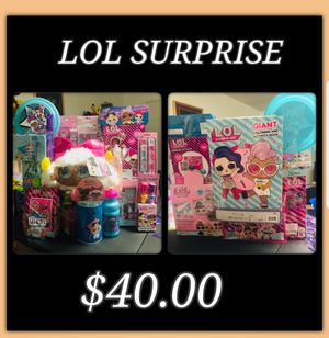 Lol SURPRISE Easter Baskets for Sale in San Antonio, TX