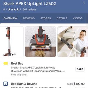 Shark Apex Lift-away Duo Clean Vacuum for Sale in Shelton, CT