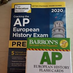 AP European History Book & Flashcards for Sale in Sarasota,  FL
