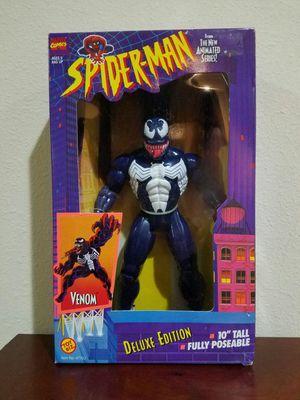 "Venom Deluxe Edition 10""inch Spider-Man Marvel Comics ToyBiz RARE VINTAGE COLLECTABLE Action Figure for Sale in Thonotosassa, FL"