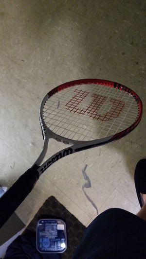 Tennis racket scrapes on top for Sale in Worcester, MA