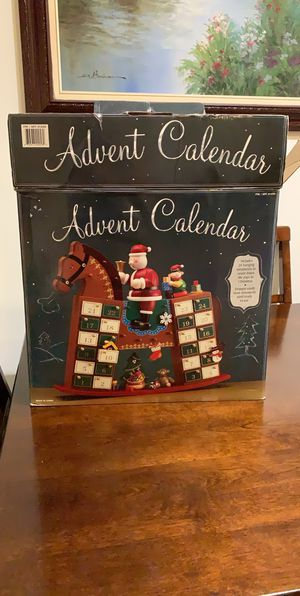 Wooden horse Advent Calendar for Sale in Brea, CA