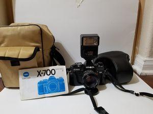 Minolta x-700 film camera bundle for Sale in Menifee, CA