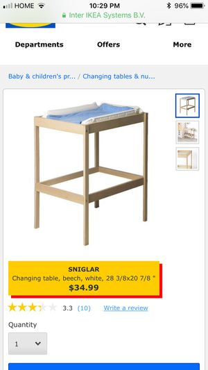 Changing table for Sale in Jersey City, NJ