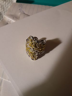 Silver Leaf ring size 8 for Sale in Smyrna, TN