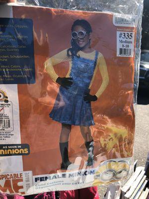 Kids minion costume size m (8-10) for Sale in Brockton, MA