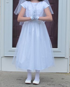 First communion or flower girl dress for Sale in East Taunton, MA