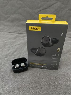 Jabra Elite 75t true wireless earbuds for Sale in Sacramento, CA