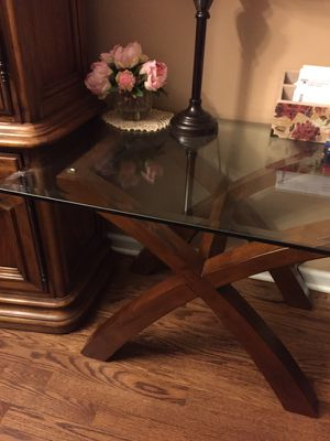 Glass top end table ( or set of two) for Sale in Chicago, IL