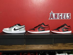 Jordan 1 Low Reverse Bred, Smoke grey for Sale in Norco, CA