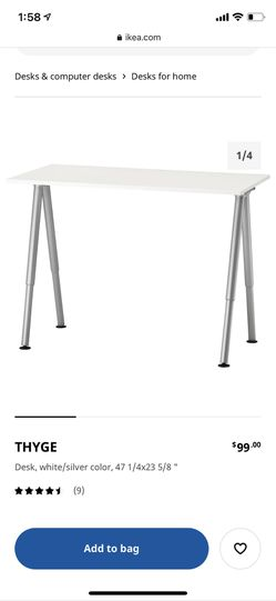 IKEA Computer Desk for Sale in Philadelphia,  PA