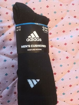 Adidas Moisture Wicking Crew Socks New for Sale in Columbus, GA