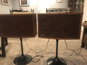 Set of 2 Bose speakers 901 series with equalizer for Sale in Walpole, MA