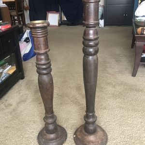 Pier 1 Wooden Candle Holders for Sale in Alexandria, VA