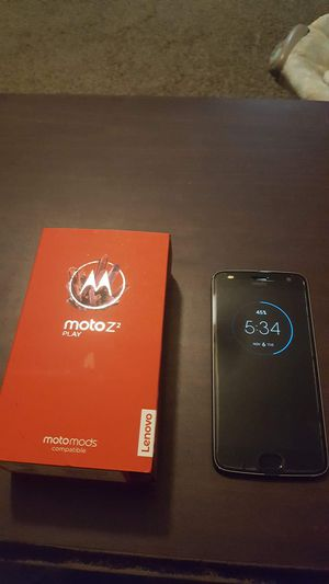 Moto Z2 play for Sale in Lake City, MI