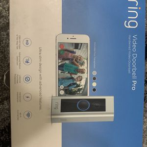 Ring Doorbell PRO (HD 1080) (usually $250) like new condition! for Sale in Tampa, FL