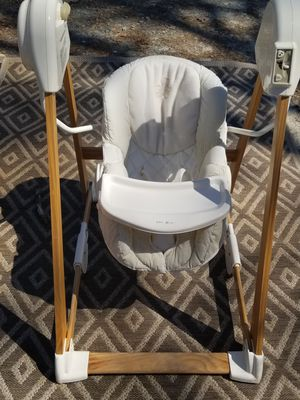 Eddie Bauer wooden baby swing for Sale in Newnan, GA