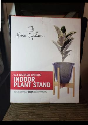 Natural Bamboo Plant Stand for Sale in Barstow, CA