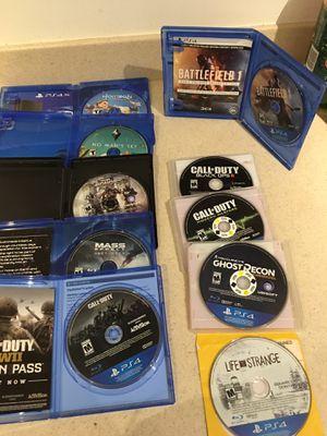 PS4 games for sale (COD, Battlefield, Horizon Zero Dawn, Battlefield 1, Ghost Recon, etc) for Sale in MONTGOMRY VLG, MD