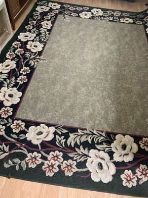 Black and beige floral Big Area Rug for Sale in High Point, NC
