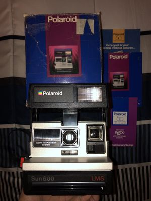 Polaroid Sun 600 LMS Vintage Camera for Sale in Hartford, CT