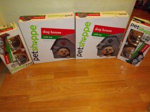 Pet Shoppe Dog House &/OR Dinner Set for Sale in Cincinnati, OH