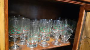Libby Holly glassware varies sizes for Sale in Kingsley, PA