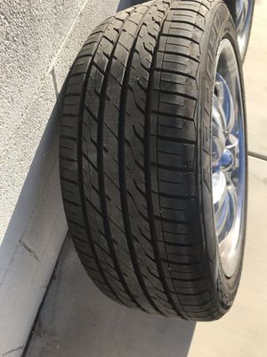 245/45. Rims 18 new for Sale in Lancaster, CA