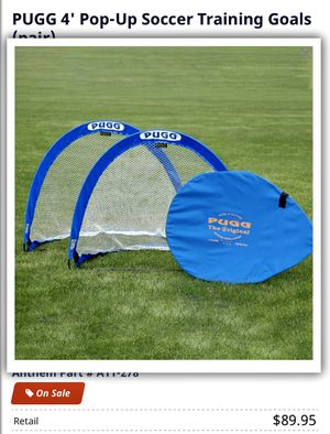"PUGG 4"" Pop Up Soccer Training Goals for Sale in Accokeek, MD"