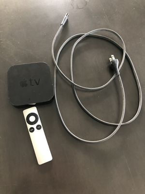 Apple TV with remote for Sale in Chandler, AZ