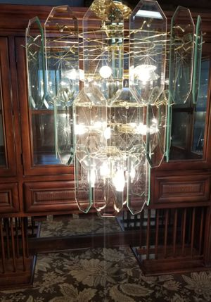 Gatsby Luminaries Crystal Chandelier for Sale in Port St. Lucie, FL