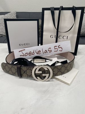 Gucci Supreme Brown Double G Mens Belt for Sale in Santa Ana, CA