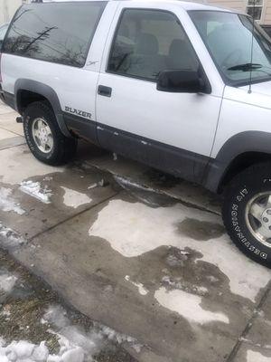1994 Chevy blazer (western plow) for Sale in Kenosha, WI