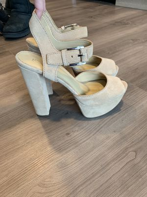 Michael Kors nude platform heels for Sale in Seattle, WA